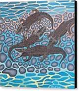 Gator Rock Canvas Print by Anthony Morris