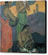 Gauguin, Paul 1848-1903. Three Women Canvas Print by Everett