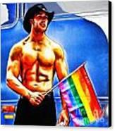 Gay Pride Canvas Print by Nishanth Gopinathan
