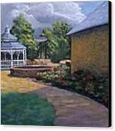 Gazebo In Potter Nebraska Canvas Print