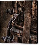 Gears And Pulley Canvas Print
