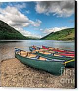 Geirionydd Lake Canvas Print by Adrian Evans