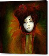 Geisha5 - Geisha Series Canvas Print