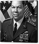 General Colin Powell Canvas Print by War Is Hell Store