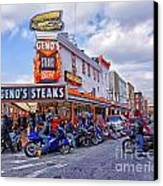 Geno's 3 Canvas Print by Jack Paolini