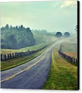 Gentle Morning - Blue Ridge Parkway II Canvas Print