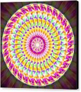 Geo Master Eleven Kaleidoscope Canvas Print by Derek Gedney