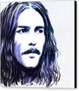 George Harrison Portrait Canvas Print by Wu Wei