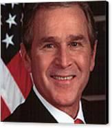 George W Bush Canvas Print