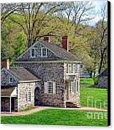 George Washington Headquarters At Valley Forge Canvas Print by Olivier Le Queinec