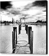 Georgetown Dock Canvas Print by John Rizzuto