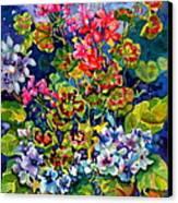 Geranium II Canvas Print