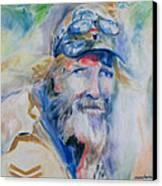 Gerard Canvas Print by Susan Hanlon