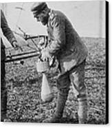 German Aeroplane Bomb, World War I Canvas Print
