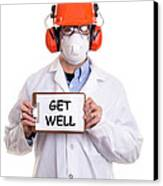 Get Well Canvas Print
