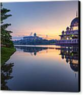 Getting The Perfect Shot Canvas Print