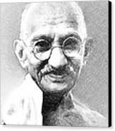 Ghandi Canvas Print