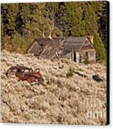 Ghost Town Remains Canvas Print