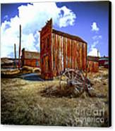 Ghost Towns In The Southwest Canvas Print by Bob and Nadine Johnston