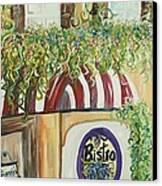 Gianni's Bistro Canvas Print by Eloise Schneider