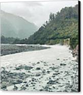 Glacial River Canvas Print