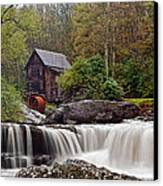 Glade Creek Waterfall Canvas Print by Marcia Colelli