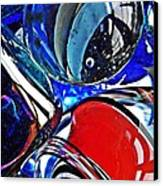 Glass Abstract 507 Canvas Print