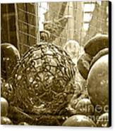 Glass Balls Japanese Glass Buoys Canvas Print