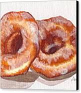 Glazed Donuts Canvas Print by Debi Starr
