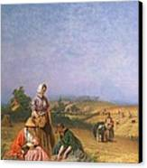 Gleaning Canvas Print