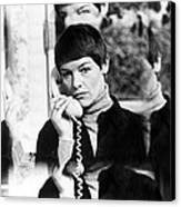 Glenda Jackson In Hopscotch  Canvas Print by Silver Screen
