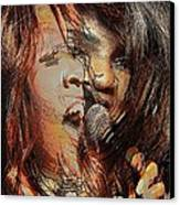 Gloria Gaynor  Canvas Print