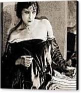 Gloria Swanson Canvas Print by Studio Release