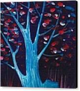 Glowing Night Canvas Print by Anastasiya Malakhova