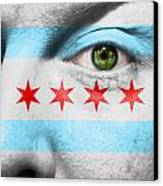Go Chicago Canvas Print by Semmick Photo