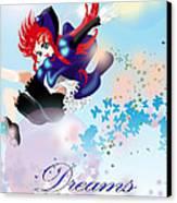 Go Up To Your Dream Canvas Print by Racquel Delos Santos