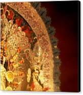 Goddess Durga Canvas Print by Prajakta P