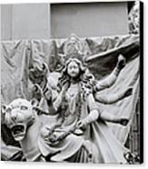 Goddess Durga Canvas Print by Shaun Higson