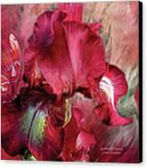 Goddess Of Passion Canvas Print by Carol Cavalaris
