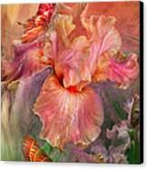 Goddess Of Spring Canvas Print by Carol Cavalaris
