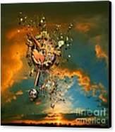 God's Dusk Canvas Print