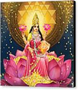 Gold Lakshmi Canvas Print
