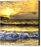 Gold Rush Canvas Print by Debra and Dave Vanderlaan