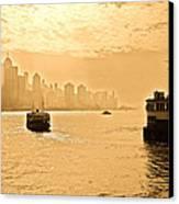 Golden Day Canvas Print by Richard WAN