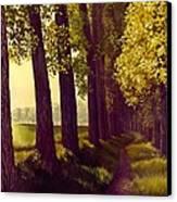 Golden Days Canvas Print by Michael Swanson