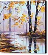 Golden Fall Canvas Print by Graham Gercken