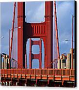 Golden Gate Bridge Canvas Print by Adam Romanowicz