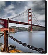 Golden Gate Bridge Canvas Print by Eduard Moldoveanu