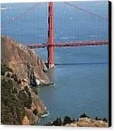 Golden Gate Bridge II Canvas Print by Jenna Szerlag