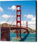 Golden Gate Bridge Canvas Print by Sarit Sotangkur